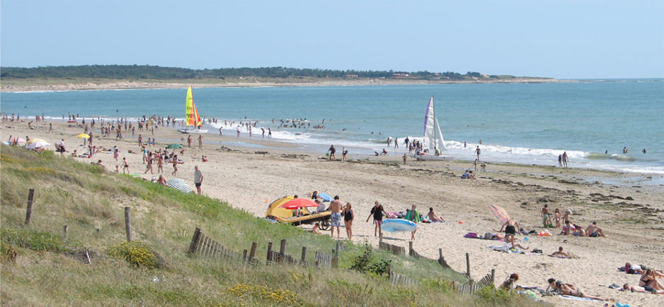 Camping Barataud for nature holidays on île d'Oléron 150 meters from the beach